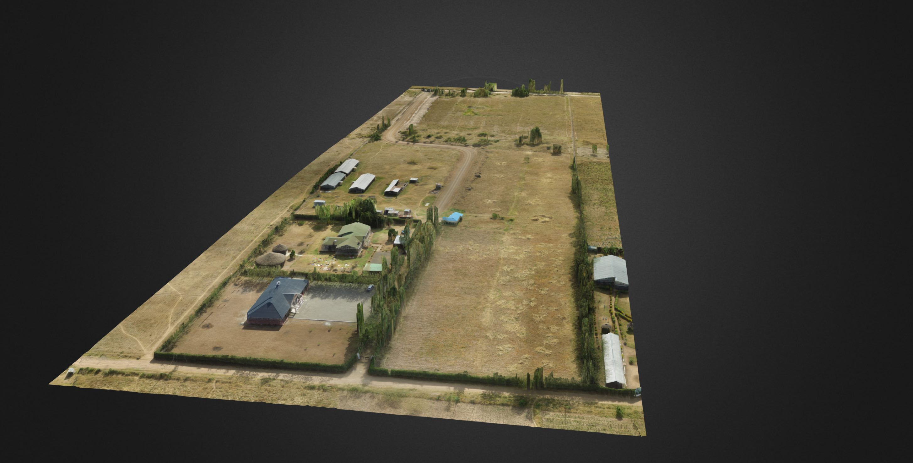 3d orthomoasic drone map