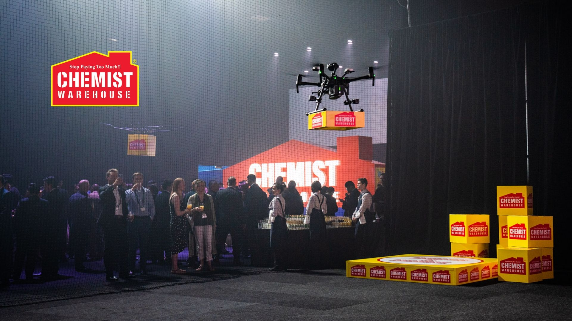 Chemist Warehouse Supplier Conference - Drone Activation