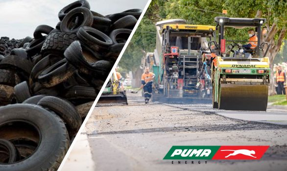 OLEXOCRUMB® Crumb rubber - Rrecycling tyres into roads