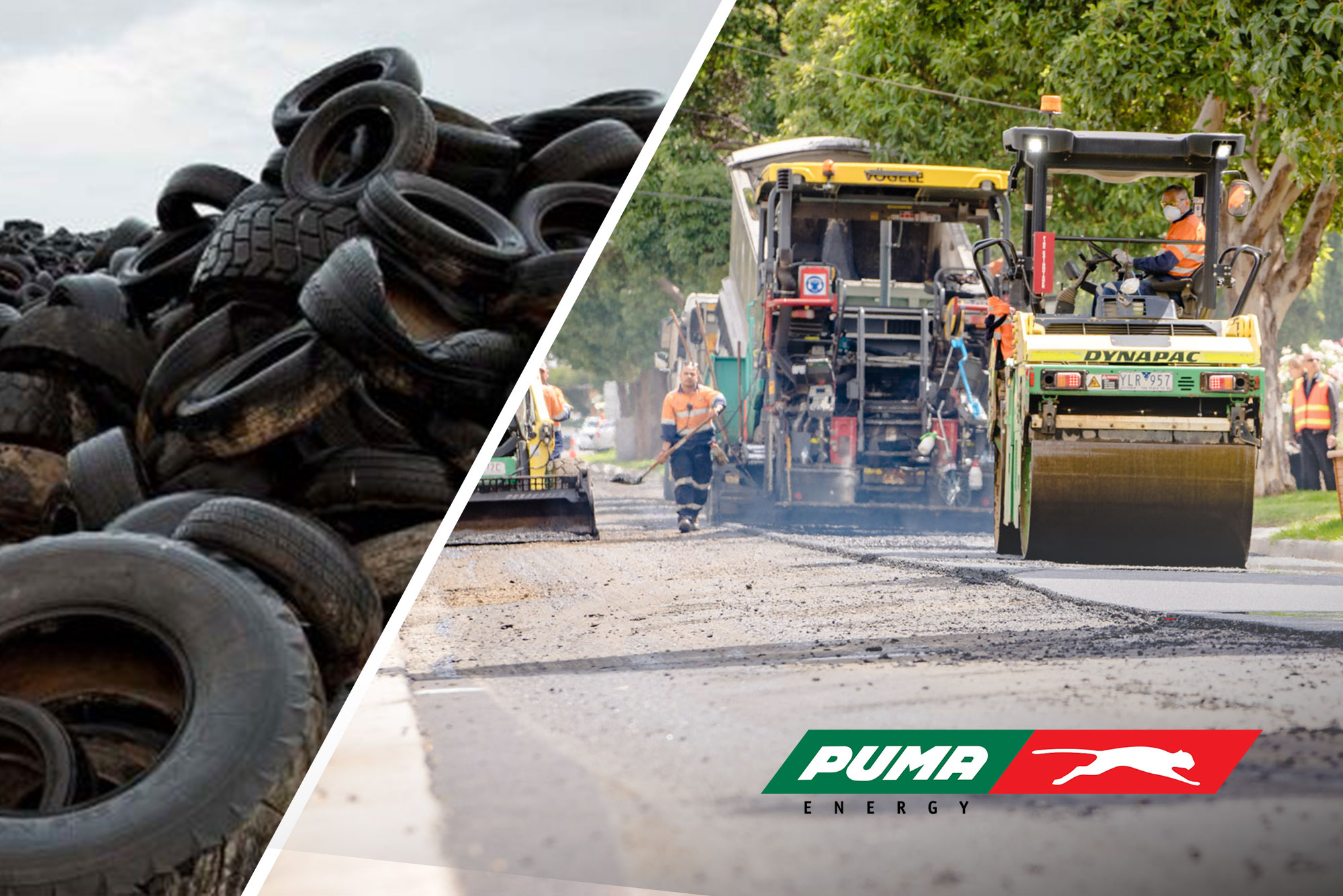 OLEXOCRUMB® Crumb rubber - Turning recycled tyres into roads