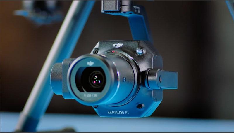 DJI P1 camera