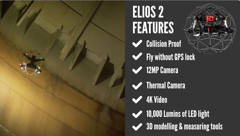 Flyability Elios 2 features