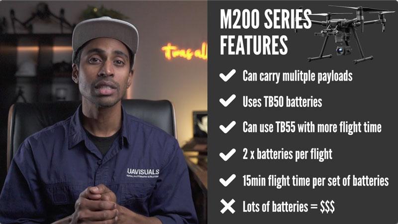 DJI M200 Features