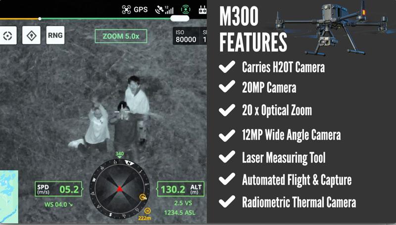 DJI M300 RTK features