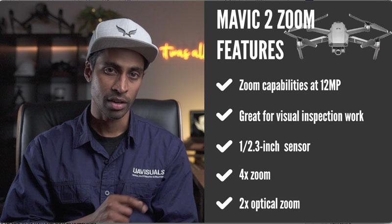 DJI Mavic 2 Zoom Features