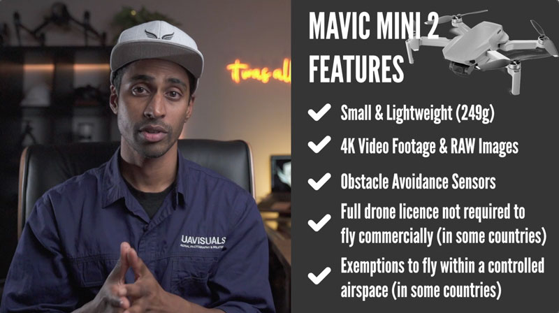 DJI Mavic Mini 2 features